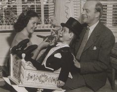 Shirley Temple, Charlie McCarthy and Edgar Bergen