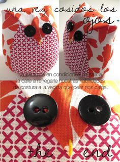 DY Cute little owl plushies