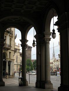 Torino: I portici di Torino