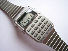 Calculator watch Watch Room, Mens Digital Watches, Cool Watches, Calculator, Clocks, Computers, Classic, Dress, Gifts