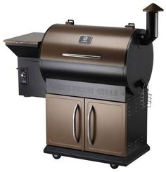 Z Grills Wood Pellet Grill & Smoker with Patio Cover, 700 Cooking Area 7 in 1- Grill, Smoke, Bake, Roast, Braise and BBQ with Electric Digital Controls for Outdoor (Black and Bronze) - Crov.com guides U.S. buyers to wholesale high quality and cost effectively Grills & Accessories products at the competitive price.