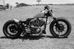 Harley Shovelhead Bobber Motorcycles