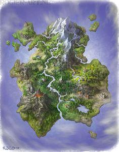 Opposite Island by RogerStork on deviantART