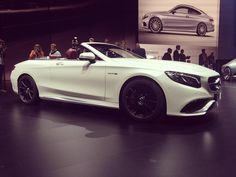 S 500 Cabriolet at IAA 2015 #picoftheday #mbcars #cars #autos #carsofinstagram #carswithoutlimits