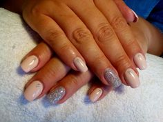 Nude Uv Gel, Nude, Nails, Beauty, Beleza, Ongles, Finger Nails, Nail, Nail Manicure