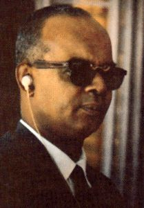 Eric Williams 1st Prime Minister of Trinidad & Tobago and father of the nation. He was also the longest serving Prime Minister to date, four terms from (December 1961 - March 1981)