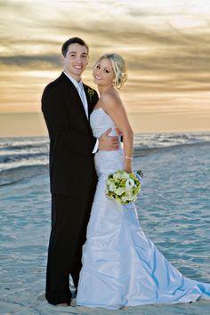 Beach wedding    Luv the dress