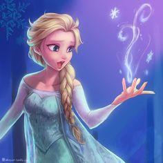 Elsa the Snow Queen - Frozen (Disney) - Image - Zerochan Anime Image Board Frozen Disney, Elsa Frozen, Princesa Disney Frozen, Frozen Art, Frozen Movie, Disney Magic, Elsa Elsa, Frozen Queen, Walt Disney