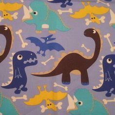 Cute dinosaur fabric