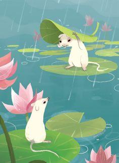 Pond Rats by Joey Chou