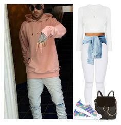 """""""Day out with Liam"""" by dreamofjess ❤ liked on Polyvore featuring Payne, B. Swim, Chloé, adidas Originals and LiamPayne"""