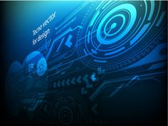 Free Technology Abstract Vector Backgrounds