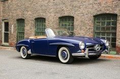 The Mercedes Benz was introduced in 1954 at the New York Motor Show as a less expensive, more practical, and smaller version of the illustrious Mercedes Benz Coupe, Mercedes Benz Cars, Mercedes Convertible, Benz Amg, Classic Mercedes, Classy Cars, Cabriolet, Hot Cars, Luxury Cars