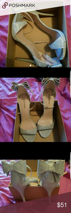 Zigi Soho shoes Size 10 runs big. I was a bridesmaid and wore these for about 2 hours. They are like new. Excellent condition. Purchased from Macys Zigi Soho Shoes Heels