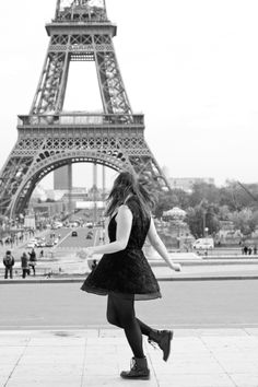 A series of serendipity - Petites choses In Paris  <3 Melina Souza photo by Sharon Eve Smith