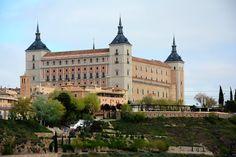 Alcázar de Toledo, España.