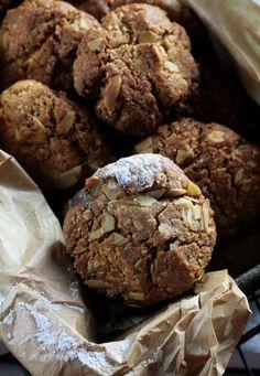 CIASTECZKA Z MASŁEM ORZECHOWYM Polish Recipes, Polish Food, Cheat Meal, Cake Cookies, Cupcakes, Cookie Recipes, Healthy Snacks, Bakery, Brunch