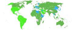 Geallieerden: het Verenigd Koninkrijk, China, de Verenigde Staten, de Sovjet-Unie en Canada. Asmogendheden: Nazi-Duitsland, Italië en Japans Keizerrijk.