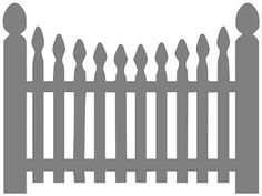 Paper This And That: Picket Fence SVG File