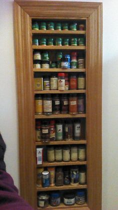 BUILT IN SPICE RACK - Google Search & Built in spice rack for a kitchen with no storage by the stove. | my ...