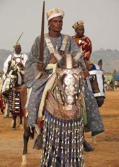 Horses at the Kano Durbar Festival in Nigeria