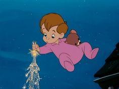Pixie dust for Nana, Peter Pan (1953)