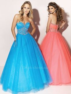 Peacock Ball Gown Sweetheart Tulle over Satin Prom Dress Prom Dress 2013, Tulle Prom Dress, Grad Dresses, Prom Dresses Blue, Cheap Prom Dresses, Cheap Wedding Dress, Quinceanera Dresses, Formal Evening Dresses, Pretty Dresses