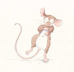 Paula Bowles Illustration - paula, paula bowles, bowles, paint, painted, watercolour, traditional, commercial, picture book, picturebook, sweet, mouse, mice, animal, animals