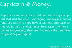 Why is this the ONLY characterization that DOES NOT describe this Capricorn?!