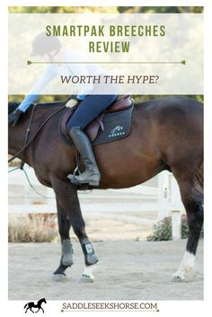 SmartPak Breeches- My review on whether or not these riding breeches are worth the hype!