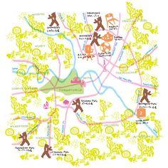 Map / 地図 - vol.1