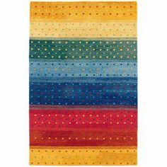 Couristan Oasis Rainbow Rug, Multi-Colored Color, Multicolor