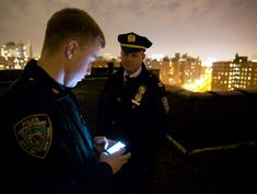 NYTimes: New Tool for Police Officers: Records at Their Fingertips (Apr 2013) - The NYC Police Dept has distributed about 400 dedicated Android smartphones to its officers, part of a pilot program begun quietly last summer. The phones, which cannot make or receive calls, enable officers on foot patrol, for the first time, to look up a person's criminal history  verify their identification by quickly gaining access to computerized arrest files, police photographs, and state DMV databases…