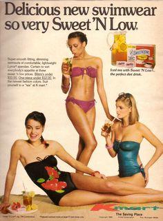 1980 Kmart Department Store Sweet 'N Low Print Ad Advertisement Vintage VTG 80s #Kmart
