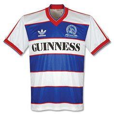 85-86 QPR Home Shirt http://www.roehampton-online.com/About%20Us/Roehampton%20London.aspx?4231900