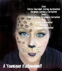 Halloween Looks using all #Younique  www.youniqueproducts.com/brittanymarie