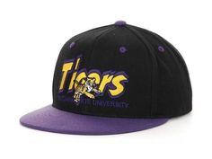 LSU Tigers NCAA TOW Double Vision Snapback Hat New #TopoftheWorld #LSU