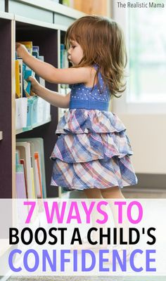 7 ways to boost a child's confidence! #1 is a fun project I love doing with kids year after year and saving away in a special place to watch how they've grown. #sp