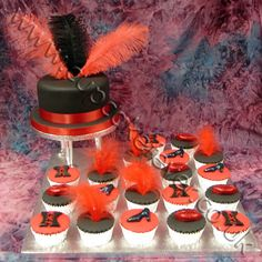 Rocky Horror Picture Show Cupcakes