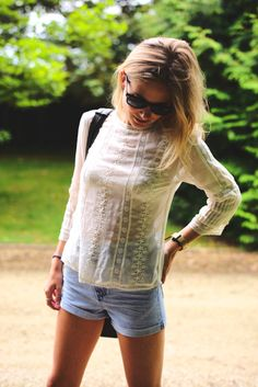 Summer Style : Picture DescriptionImage Via: Fashion Me Now Fashion Me Now, Look Fashion, Passion For Fashion, Womens Fashion, Hipster Fashion, Summer Outfits, Casual Outfits, Cute Outfits, Looks Style