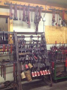 Blacksmithing Tools Be still my beating heart, I love Blacksmith porn.