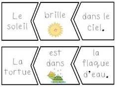 French Worksheets for Kids ~ Spring Printout French