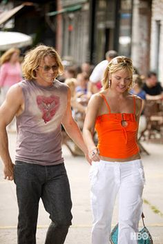 Samantha Jones with Smith Jared.....Sex and The City hottie couple