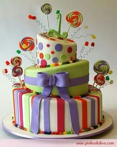 So cute cake
