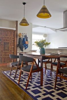 Mid-Century Dining room Makeover; a good old fashioned 'before' and 'after' | Emily Henderson