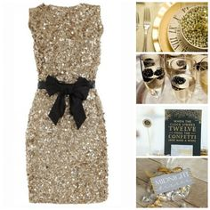 silver sparkly wedding  vow renewal dress | Dress / Table Settings / Champagne / Invitations / Favor