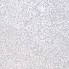 White+&+Silver+Paisley+Foil+Wrapping+Paper+Price+$5.95-what I really want is white embossed.