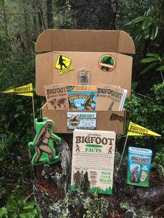 Ultimate Bigfoot Sasquatch Gift Box