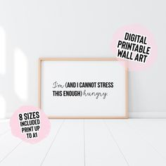 Digital Download I'm And I Cannot Stress This Enough   Etsy