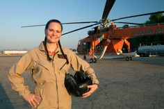 Meet helicopter pilot for Erickson, Inc. A new video and part of a series of short films about women who work in male dominated professions. Created for Like A Woman by http://kellymooney.com/
